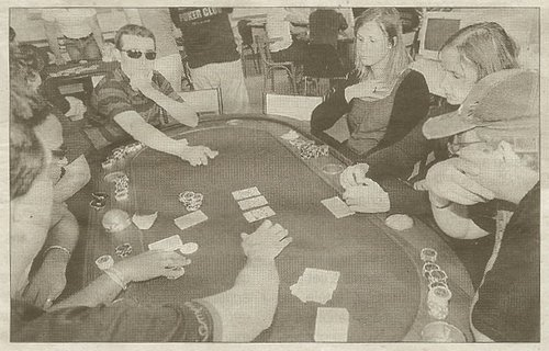 Pour son premier tournoi, le club de poker d'Angoulême a joué gagnant